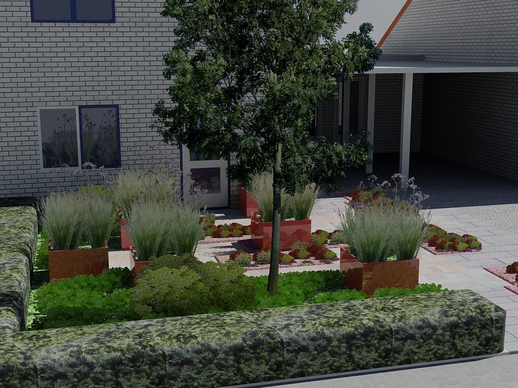 Hedendaags Bladgoud tuinen RR-76